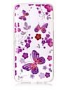 Чехол для lg k10 (2017) k8 (2017) корпус крышка бабочка узор высокая проницаемость tpu материал imd технология флеш-накопитель телефон