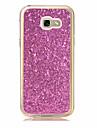 Cas pour samsung galaxy a3 (2017) a5 (2017) housse couverture couverture translucide couverture glitter brillant tpu doux pour Samsung