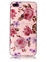 Case For Apple iPhone 7 Plus 7 Phone Case TPU Material IMD Process Roses Pattern HD Flash Powder Phone Case 6s Plus 6 Plus 6S 6 5S 5 SE