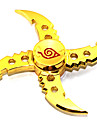 Fidget Spinner Inspired by Naruto Uzumaki Asuma Sarutobi Anime Cosplay Accessories Chrome