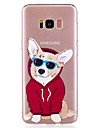 For Samsung Galaxy S8 Plus S8 Phone Case TPU Material Puppy Pattern Painted Phone Case S7 Edge S7 S6 Edge S6
