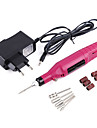 PINPAI Nail Art Drill Kit Variable Speed Rotary Detail Carver Electric Pen-Shape File