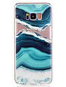 Pour samsung galaxy s8 plus s8 etui pour telephone materiel tpu agate pattern pochette pour telephone peint s7 bord s7 s6 bord s6