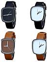Men\'s Fashion Watch Wrist watch Casual Watch Chinese Quartz / PU Band Vintage Casual Luxury Elegant Minimalist Black Brown