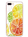 Случай для яблока iphone 7 7 плюс крышка случая оранжевая картина hd покрашенная tpu материал мягкий случай случай телефона для iphone 6s
