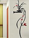 보태니컬 플로랄/보타니칼 로맨스 벽 스티커 3D 월 스티커 데코레이티브 월 스티커,아크릴 자료 홈 장식 벽 데칼