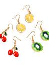 여성용 드랍 귀걸이 패션 개인 의상 보석 합금 Fruit 제품 일상 캐쥬얼 거리 데이트 결혼 선물
