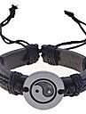 Муж. Браслеты с подвесками Кожаные браслеты Уникальный дизайн Мода бижутерия Кожа Бижутерия Бижутерия Назначение Повседневные Новогодние