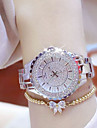 Mulheres Relogio de Pulso Bracele Relogio Unico Criativo relogio Relogio Casual Simulado Diamante Relogio Relogio Pave Chines Quartzo