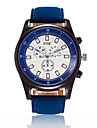 XU Men\'s Luxurious Elegant Quartz Leather Belt Business Large Dial Wrist Watch Dress Watch