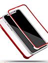 Pour iPhone X iPhone 8 iPhone 8 Plus Etuis coque Antichoc Coque Integrale Coque Couleur unie Flexible Silicone pour Apple iPhone X iPhone