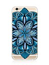 For iPhone 7 iPhone 7 Plus Case Cover Transparent Pattern Back Cover Case Mandala Soft TPU for Apple iPhone 7 Plus iPhone 7 iPhone 6s