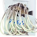Leuchtende Angelhaken Für Sea-Fishing With 100CM-Line (15 Stück / Packung) 26 # -28 # HQ002 (Gelb)