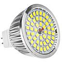 MR16 6W 48x2835SMD 580-650LM 5800-6500K Natural White Light LED Spot Bulb (12V)