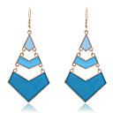 Lureme®Enamel Arrows Symbol Earrings