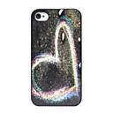 Alternative Heart Pattern Back Case for iPhone 4/4S