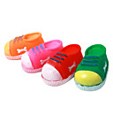 Shoe Shaped Rubber Pet Squeaking Toy for Dogs(Random Color)