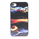 Gorgeous Color Lights Pattern Back Case for iPhone 4/4S