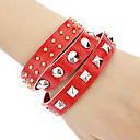 Z&X®  European And American Punk Retro Metal Bracelet Leather Jewelry Wholesale Bracelet