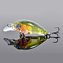 Trulinoya-Hard Mini Bait Mini Crank 35mm/3.5g/1.2m Fishing Lure (Random Color)