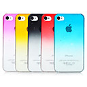 Bubbles Gradient Color Transparent Back Case for iPhone 4/4S(Assorted Color)