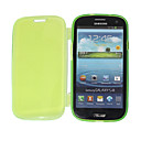 Transparent Fluorescence Color Protective Soft TPU Case for Samsung Galaxy S3 I9300