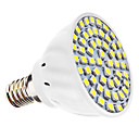 3W E14 LED Spotlight MR16 60 SMD 3528 240 lm Natural White AC 110-130 / AC 220-240 V
