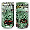 Tree Monster Pattern Front and Back Protector Stickers for Samsung Galaxy S4 mini I9190