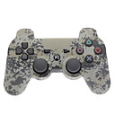 Серый камуфляж Dual-Shock Bluetooth V4.0 беспроводной контроллер для PS3