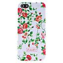 Малый Pattern Живые цветы Пластиковый корпус жесткий для iPhone 5 / 5S