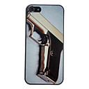 Золотой пистолет Pattern Anti-царапины матовый Жесткий чехол для ПК iPhone 5 / 5S