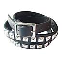 Eruner®Leather Bracelet Multilayer Punk Style Rivet Bracelet