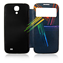 Colors Lines Plastic Full Body Case for Samsung Galaxy S4 I9500