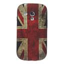 The United Kingdom Pattern TPU Soft Back Cover Case for Samsung Galaxy S3 Mini I8190
