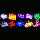 100-LED 10M украшения свет для Christmas Party RGB Light LED Свет шнура с 8 режимами дисплея (220)