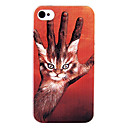 Originality Print Kkity Hand Back Case for iPhone 4/4S