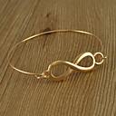 Simple Thin 8-shaped Bangle