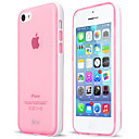 Detachable PC Frame Phone Protector with Semi-Transparent TPU Case Cover for iPhone 5C(Random Colors)