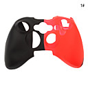 Double Color Silicone Anti-slip Case for Xbox360 Controller