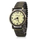 Women's Quartz Analog Elastic Alloy Band Wrist Watch (Bronze)