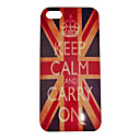 Английский флаг Crown Pattern задняя крышка для iPhone 5 / 5S
