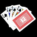 Персональный подарок розовый цветочный узор в виде игральной карты для покера