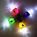 Спиральные лампы Стиль LED Белый фонарик брелок - 1Pcs (3 х AG3)