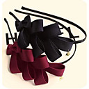 Korea Multilayer Solid Bow Headbands