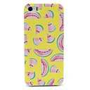 Yellow Watermelon Pattern Hard Case for iPhone 5/5S