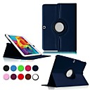 360 Degree Rotatable Leather Case for Samsung Galaxy Tab4 10.1 T530 (Assorted Colors)