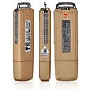 Mini USB флэш-Voice Recorder 8G (Золотой / серебро)