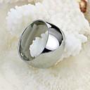 Гладкая Личность Titanium Мужские кольца стали
