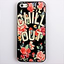 CHILL OUT Design Aluminum Hard Case for iPhone 4/4S