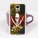 Красивая шаблон Скелет Дело Назад ПК для Samsung S5 / I9600